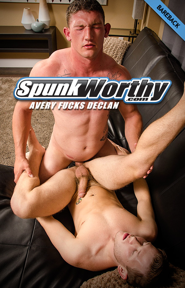 Avery Fucks Declan (Bareback) at SpunkWorthy.com