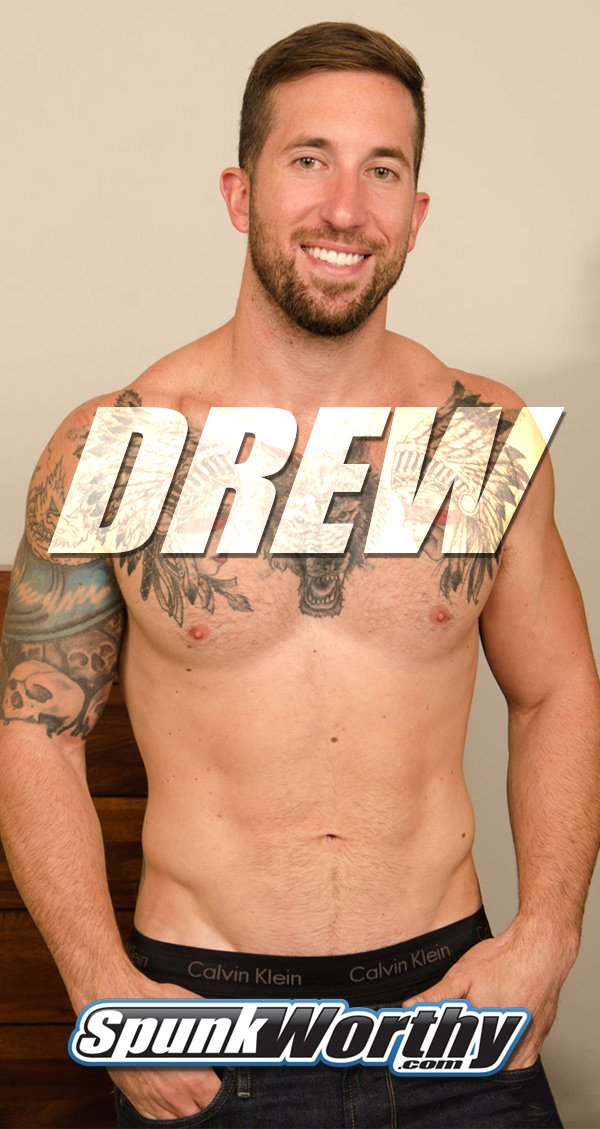 Drew (Tatted Thrill-seeker) at SpunkWorthy.com
