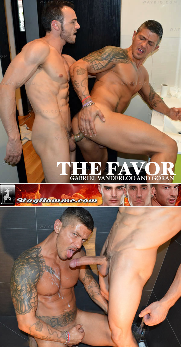 The Favor (Gabriel Vanderloo and Goran) at StagHomme