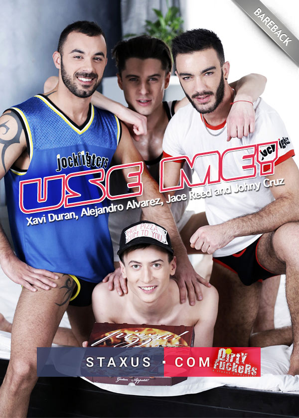 Use Me! (Xavi Duran, Alejandro Alvarez and Jace Reed Fucks Johny Cruz) (Scene 3) at Staxus
