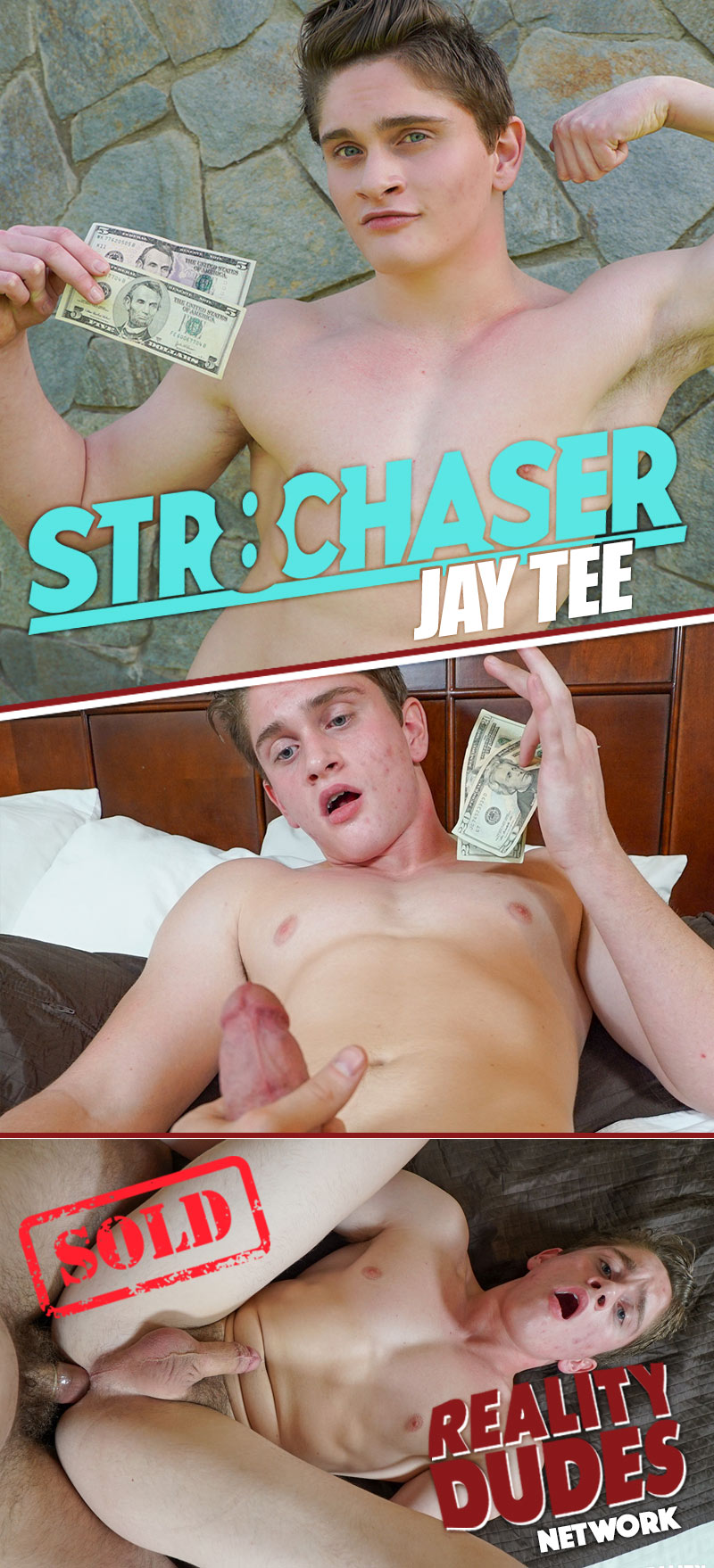 Jay Tee (He Offered Up His Bubble Butt After I Flashed My Wad Of Cash) at Str8 Chaser