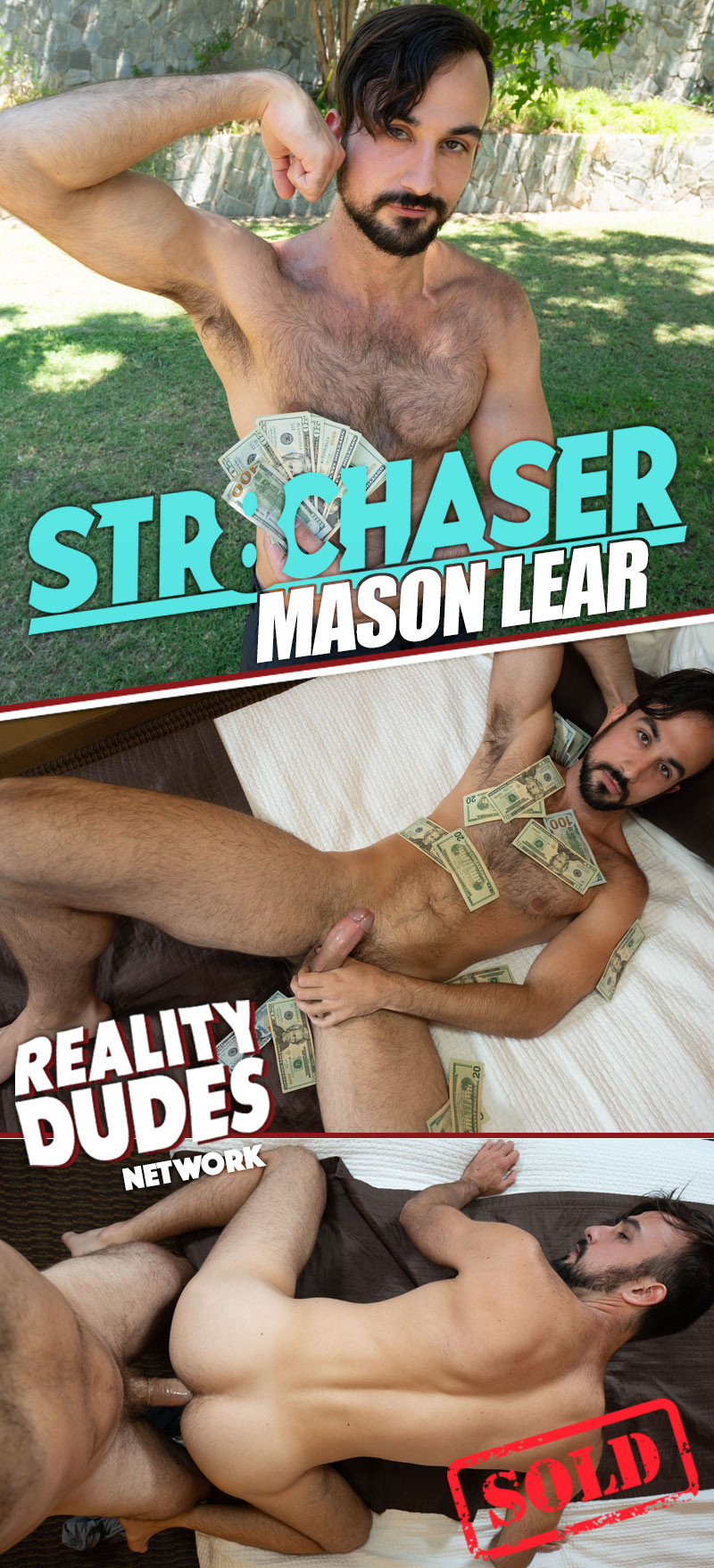 Mason Lear (Money Offered To Show His Juicy Ass) at Str8 Chaser