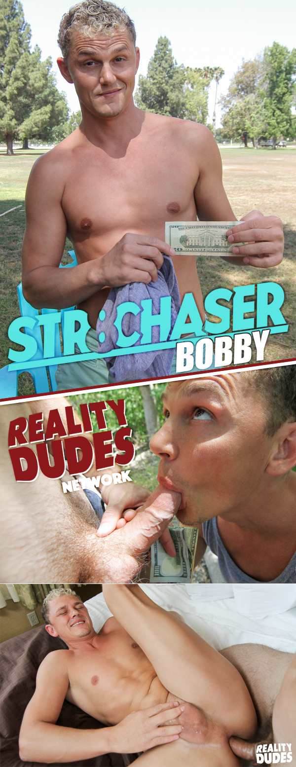 Bobby (Cash To Get Him Out Of Those Tight Shorts) at Str8 Chaser