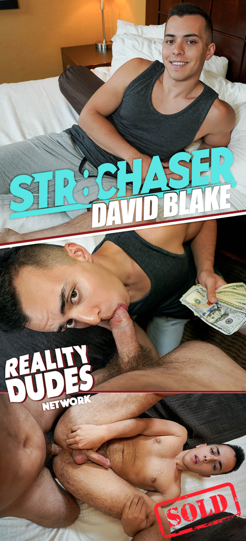 David Blake (Flashed Cash Then Fucked His Ass) at Str8 Chaser