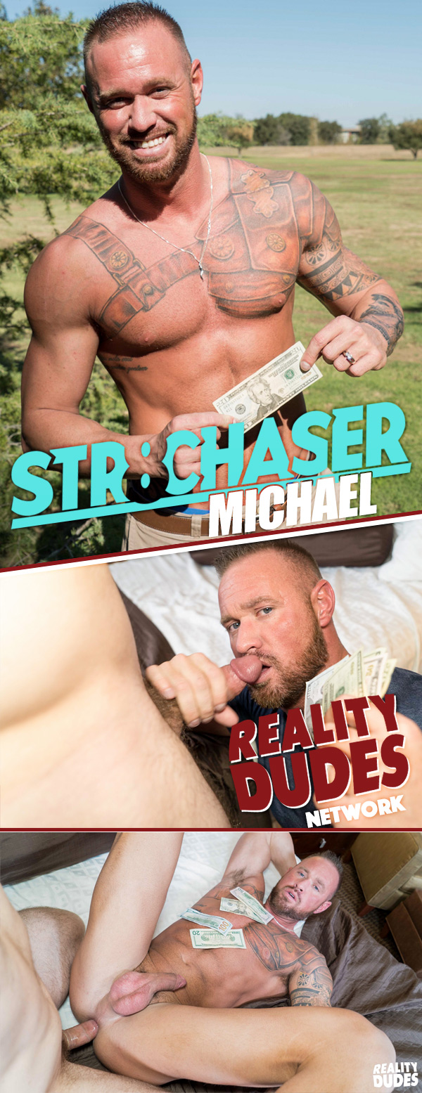 Michael (Cash In Exchange For a Little Fun) at Str8 Chaser
