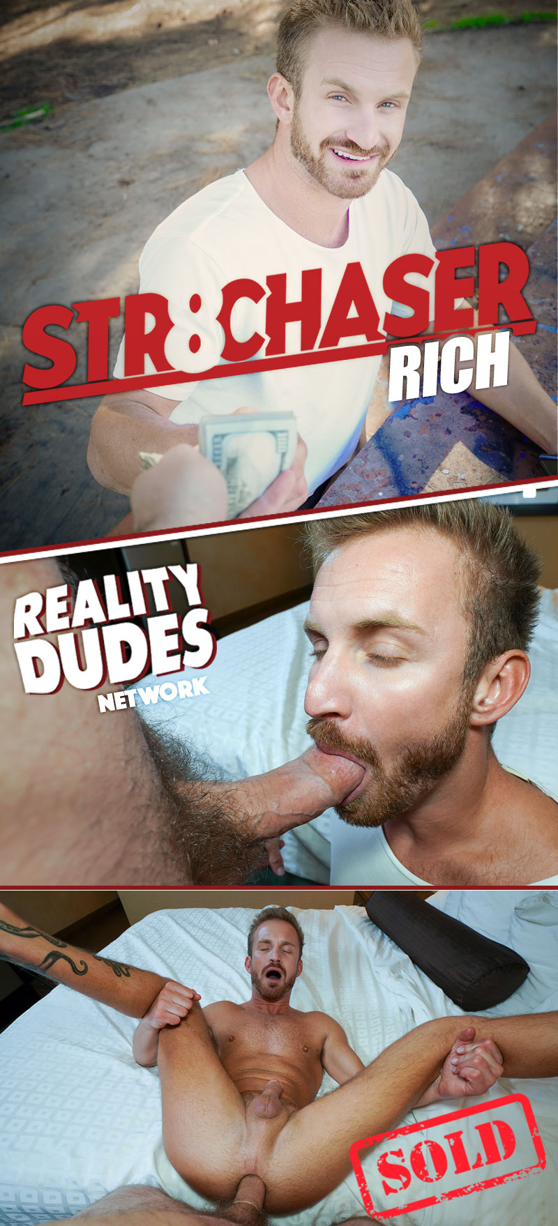 Rich (He Spread His Cheeks and I Dick-Dove Right In!) at Str8 Chaser