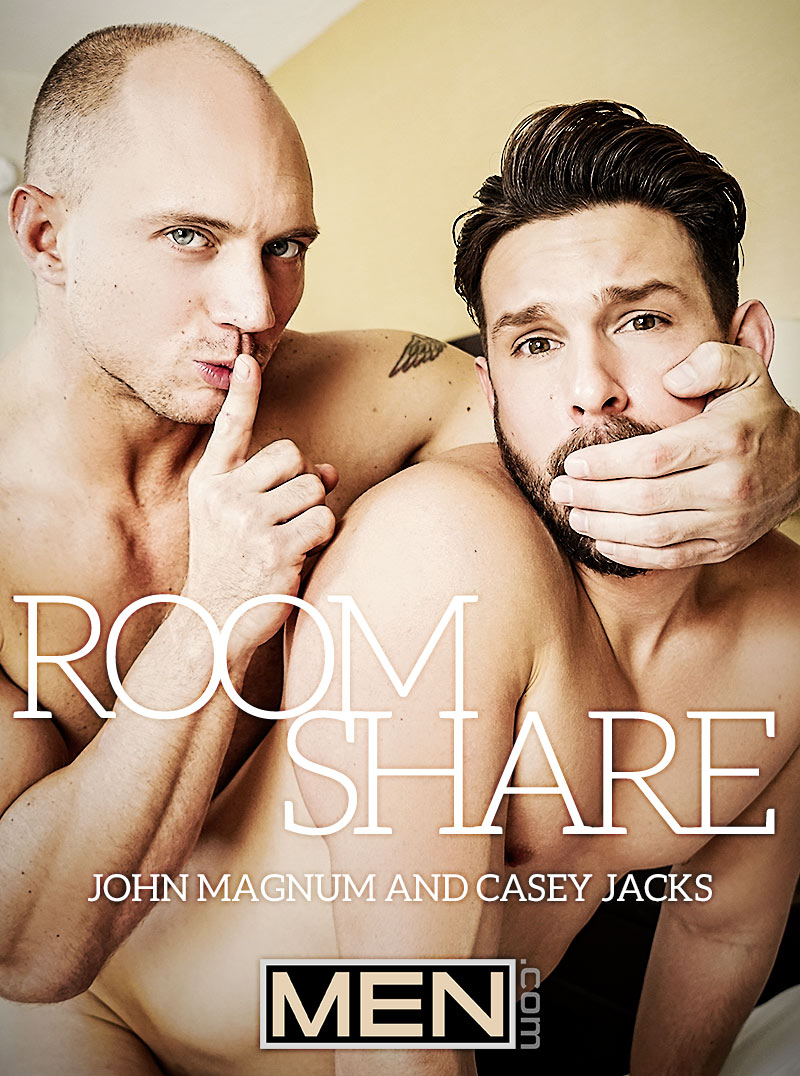 Room Share (John Magnum Fucks Casey Jacks) at Str8 To Gay