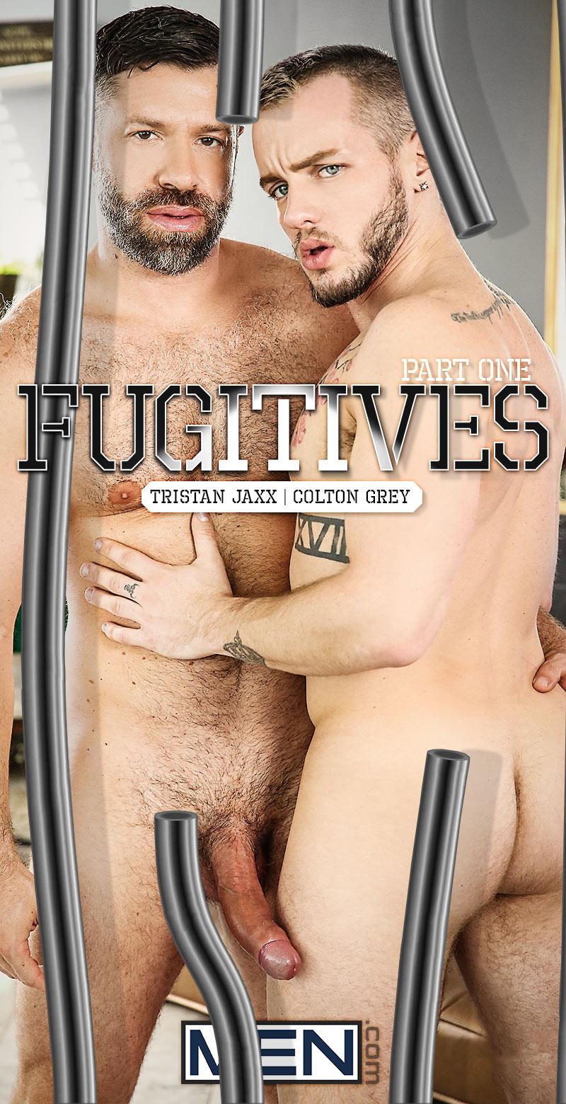 Fugitives, Part 1 (Tristan Jaxx Fucks Colton Grey) at Str8 To Gay