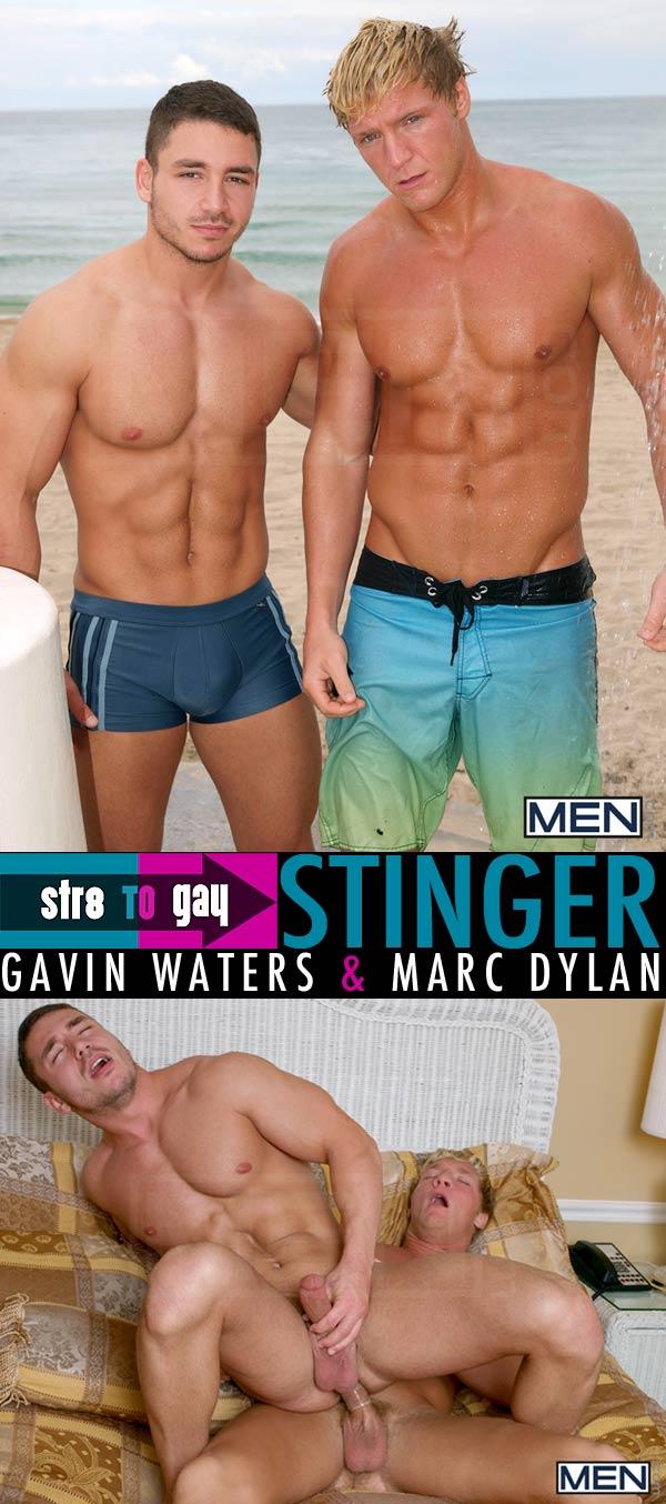 Stinger (Gavin Waters & Marc Dylan) at Str8ToGay.com