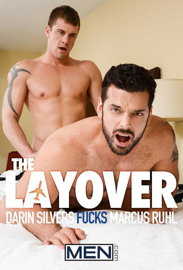 The Layover (Darin Silvers Fucks Marcus Ruhl) at Str8 To Gay