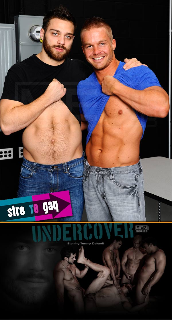 Undercover (Liam Magnuson & Tommy Defendi) (Part 1) at Str8ToGay.com