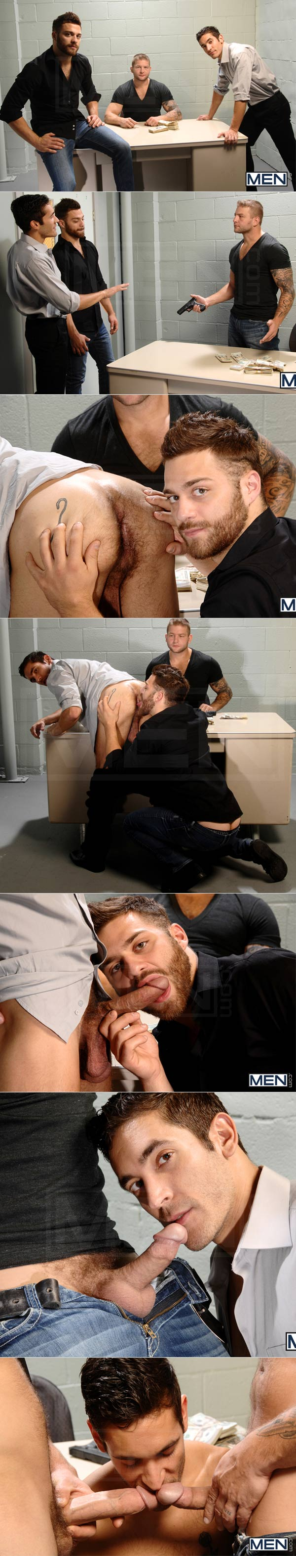 Undercover (Tommy Defendi, Dale Cooper & Colby Jansen) (Part 2) at Str8ToGay.com