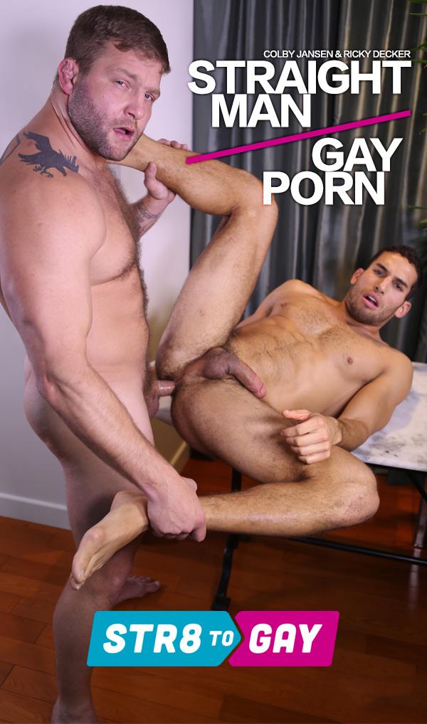 Straight Man Gay Porn (Colby Jansen & Ricky Decker) at Men.com