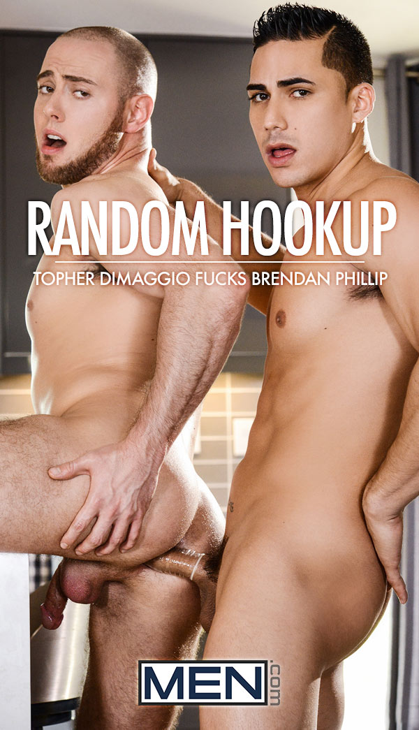 Random Hookup (Topher DiMaggio Fucks Brendan Phillip) at Str8-To-Gay