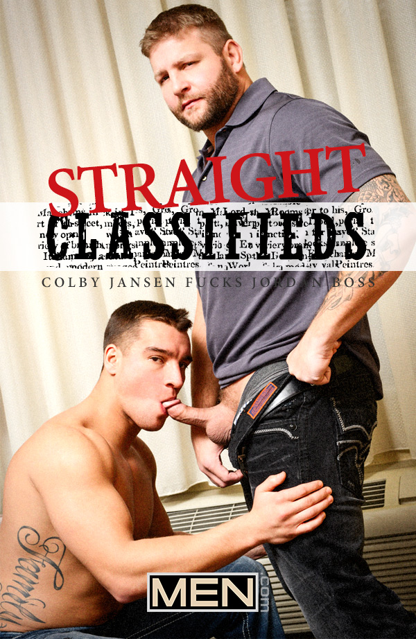 Straight Classifieds (Colby Jansen Fucks Jordan Boss) (Part 1) at Str8 To Gay