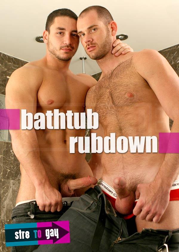 Bathtub Rubdown (Cole Streets & Marc Dylan) at Str8ToGay.com