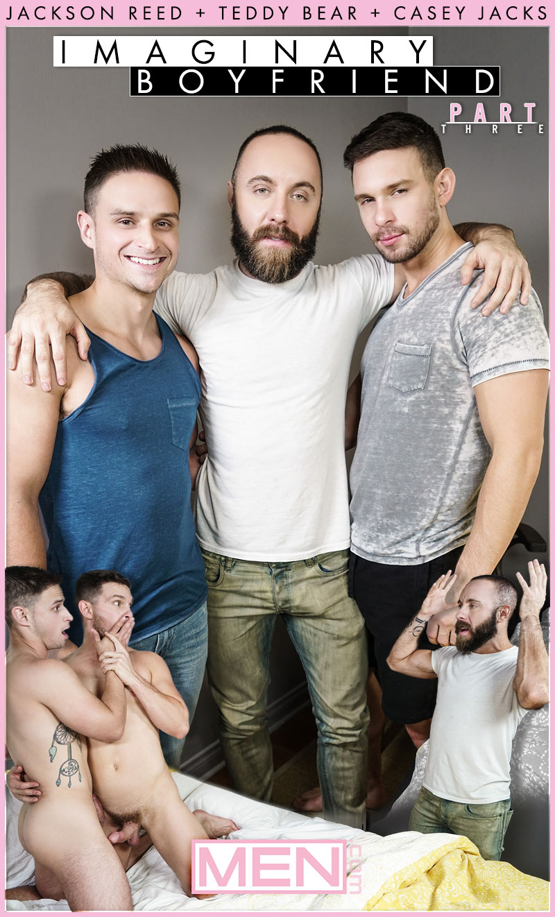 Imaginary Boyfriend, Part 3 (Casey Jacks, Jackson Reed and Teddy Bear) at Str8 To Gay
