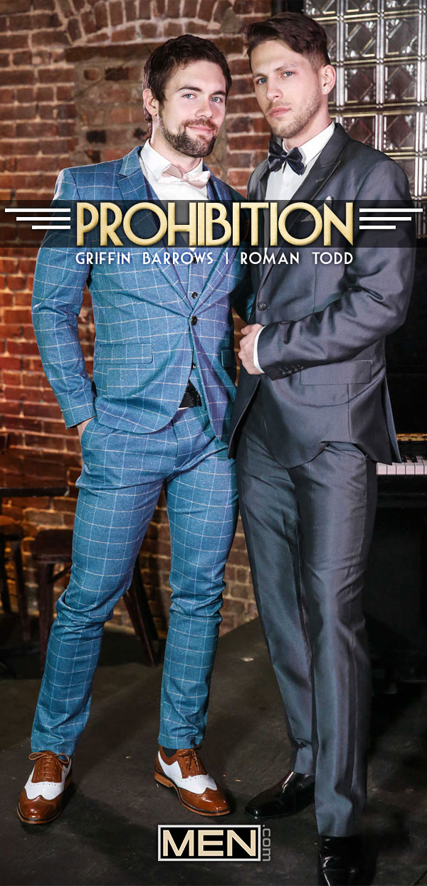 Prohibition (Roman Todd Fucks Griffin Barrows) (Part 3) at Str8-To-Gay