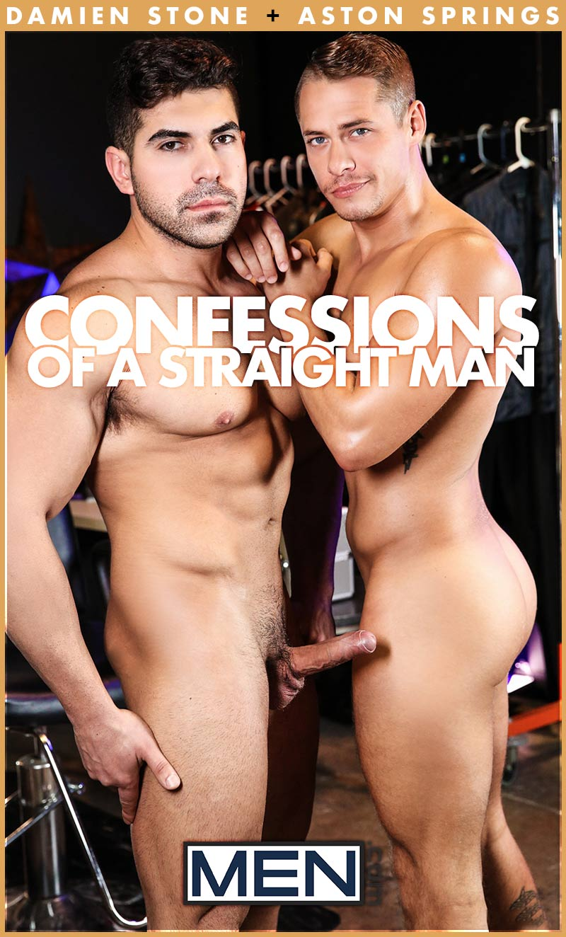 Confessions of a Straight Man, Part 2 (Damien Stone Fucks Aston Springs) at Str8 To Gay