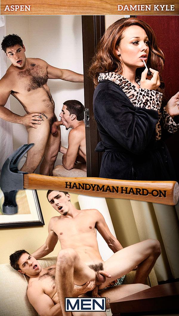 Handyman Hard-On (Aspen Fucks Damien Kyle) at Str8 To Gay