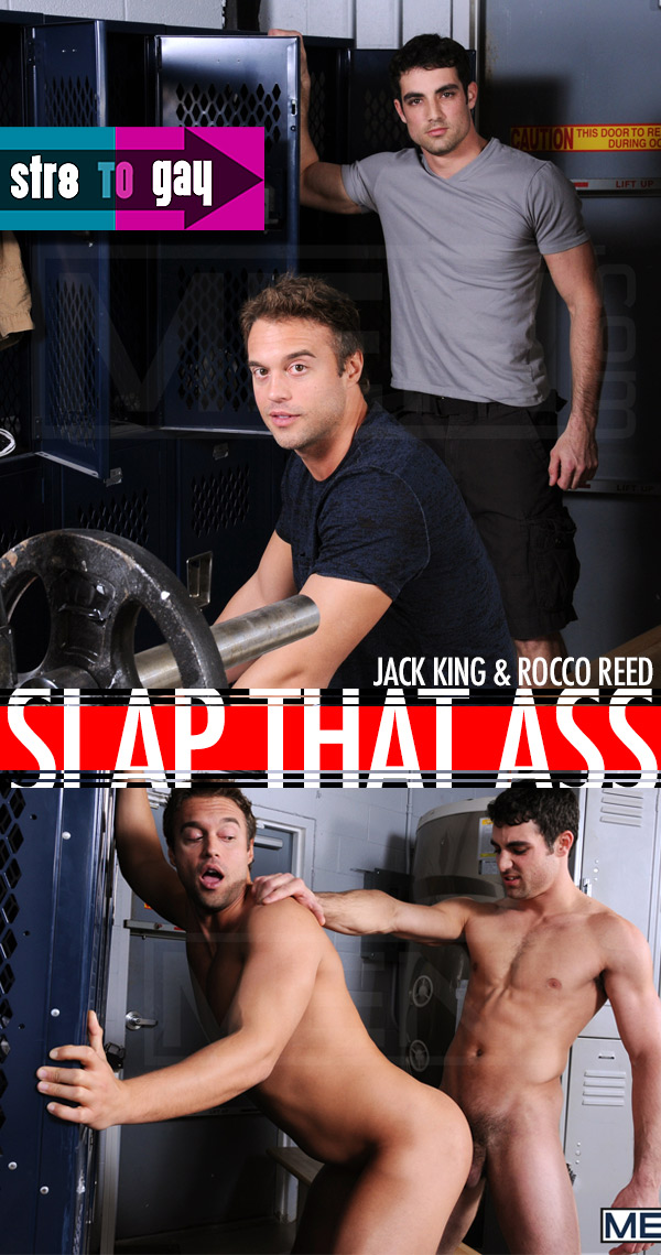 Slap That Ass (Jack King & Rocco Reed) at Str8ToGay.com