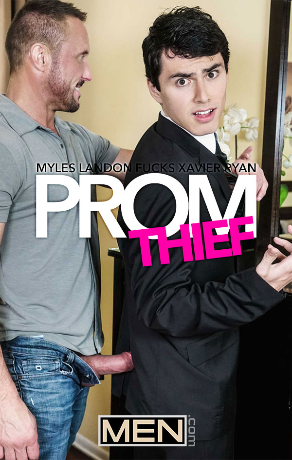 Prom Thief (Myles Landon Fucks Xavier Ryan) at Str8 To Gay