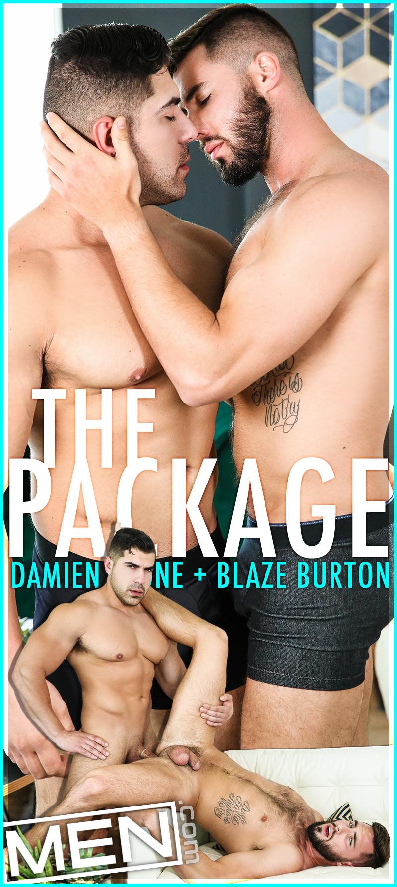 The Package (Damien Stone Fucks Blaze Burton) at Str8 To Gay