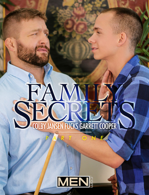 Family Secrets (Colby Jansen Fucks Garrett Cooper) (Part 1) at Str8 To Gay