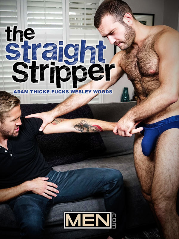 The Straight Stripper (Adam Thicke Fucks Wesley Woods) at Str8 To Gay