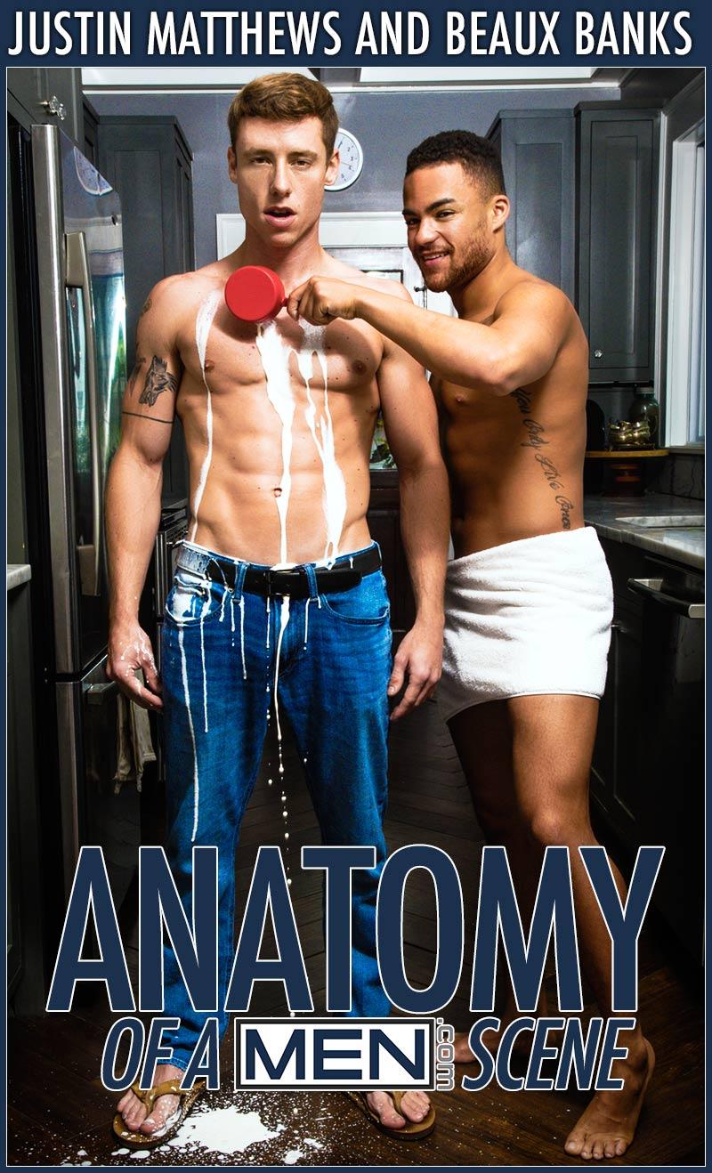 Anatomy of A Men Scene, Part Two (Justin Matthews Fucks Beaux Banks) at MEN.com