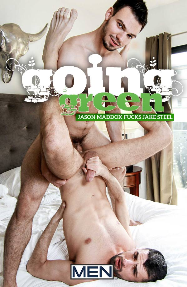 Going Green (Jason Maddox Fucks Jake Steel) at Str8 To Gay
