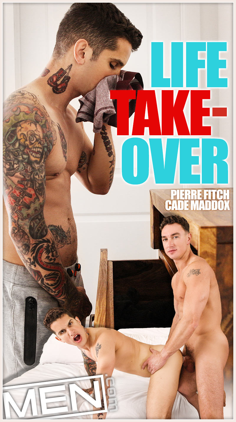 Life Takeover (Cade Maddox Fucks Pierre Fitch) at Str8 To Gay