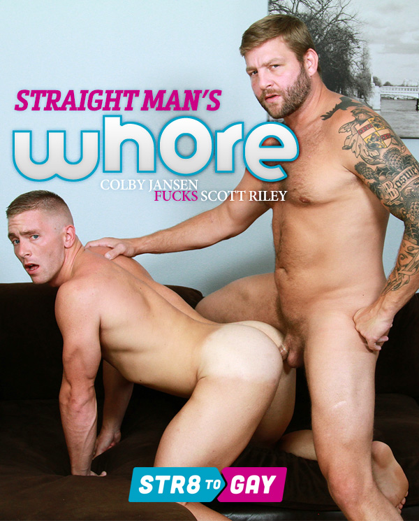 Straight Man's Whore (Colby Jansen Fucks Scott Riley) (Part 1) at Str8 To Gay