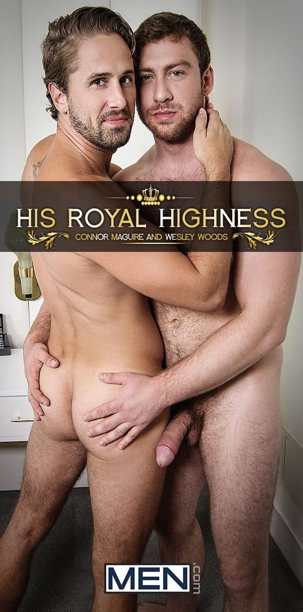His Royal Highness (Connor Maguire Fucks Wesley Woods) (Part 1) at Str8 To Gay