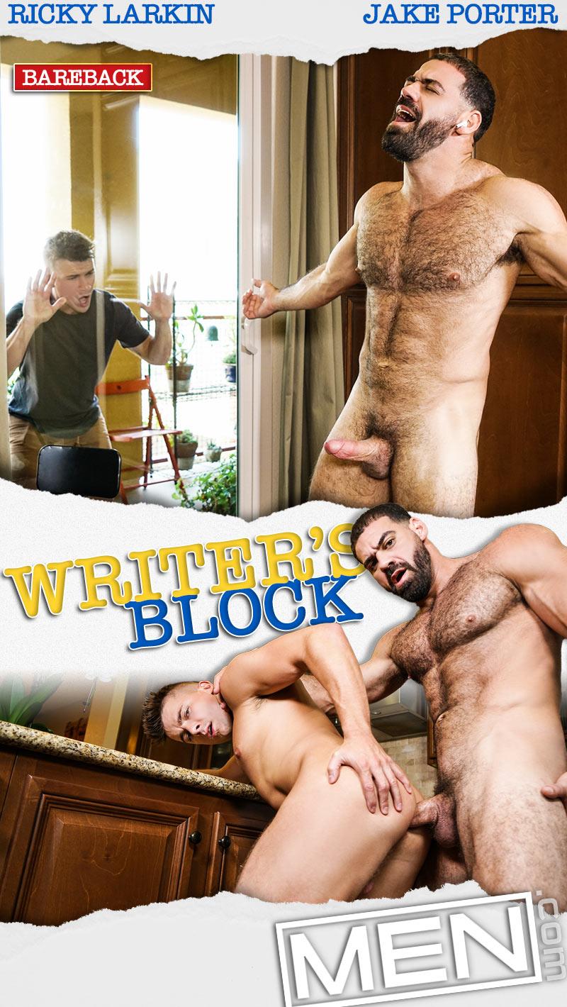Writer's Block (Ricky Larkin Fucks Jake Porter) at Str8 To Gay