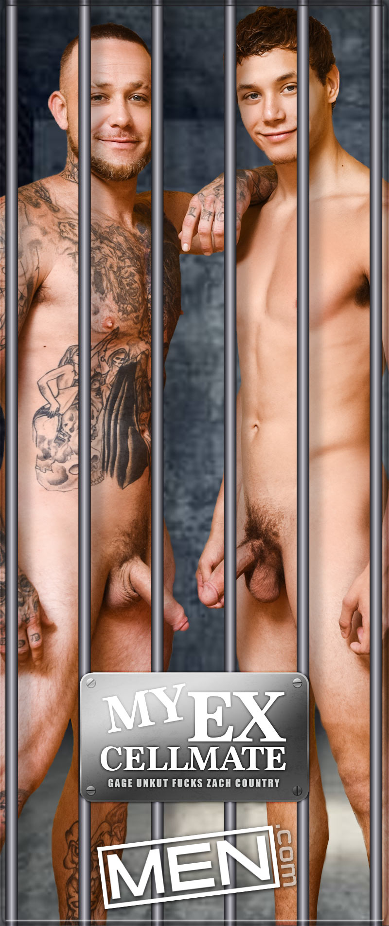My Ex Cellmate (Gage Unkut Fucks Zach Country) at Str8 To Gay