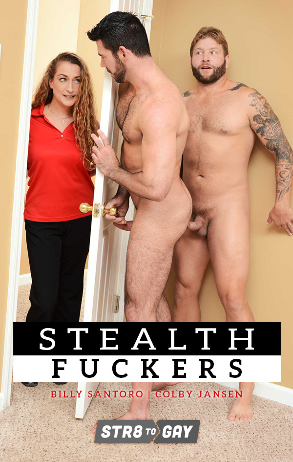 Stealth Fuckers (Colby Jansen Fucks Billy Santoro) (Part 1) at Str8 To Gay