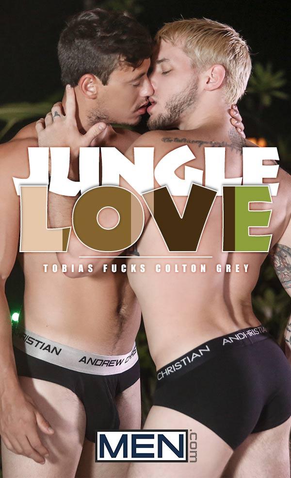 Jungle Love (Tobias Fucks Colton Grey) at Str8 To Gay