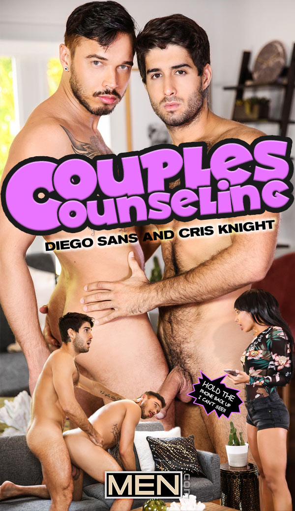Couples Counseling (Diego Sans Fucks Cris Knight) at Str8 To Gay