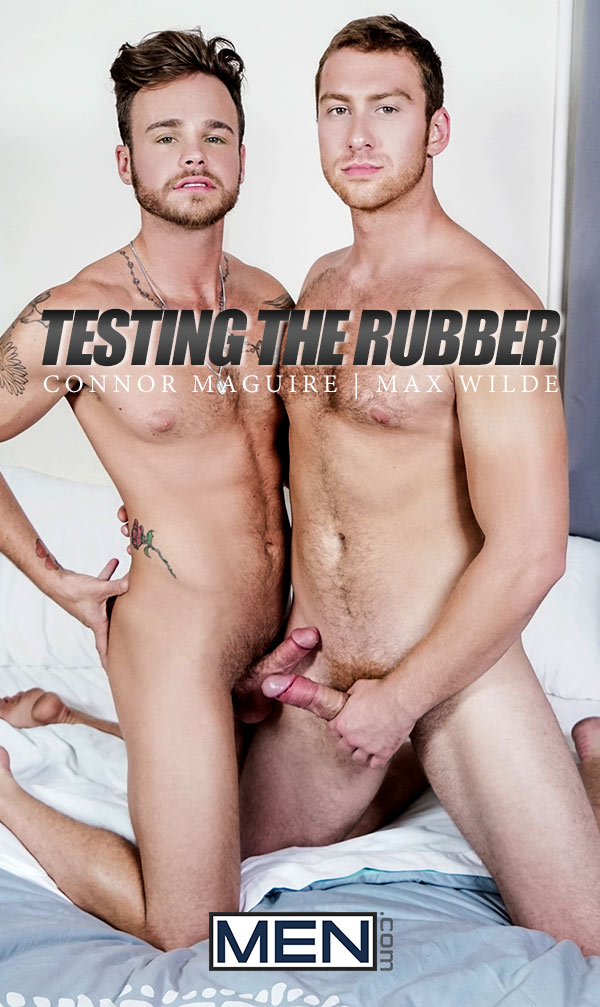 Testing The Rubber (Connor Maguire Fucks Max Wilde) at Str8 To Gay