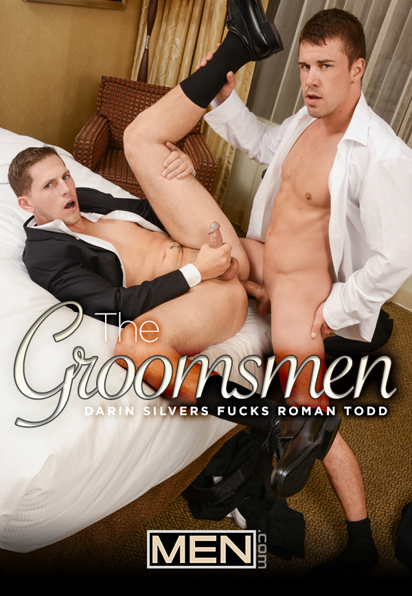 The Groomsmen (Darin Silvers Fucks Roman Todd) (Part 1) at Str8 To Gay