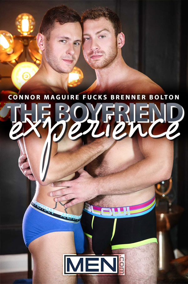 The Boyfriend Experience (Connor Maguire Fucks Brenner Bolton) at Str8-To-Gay