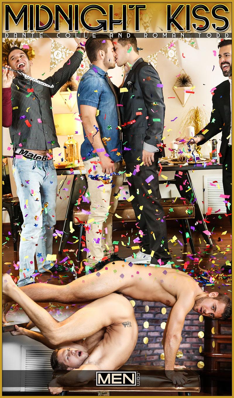 Midnight Kiss (Dante Colle Fucks Roman Todd) at Str8 To Gay