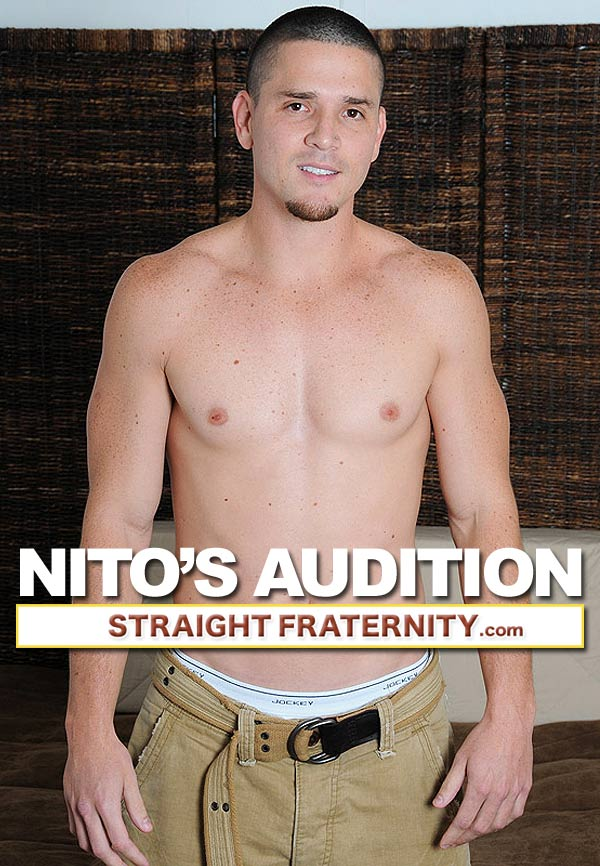 Nito's Audition at StraightFraternity