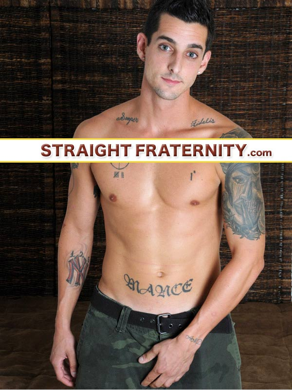 Laurent (Cocky Marine Serviced) at StraightFraternity