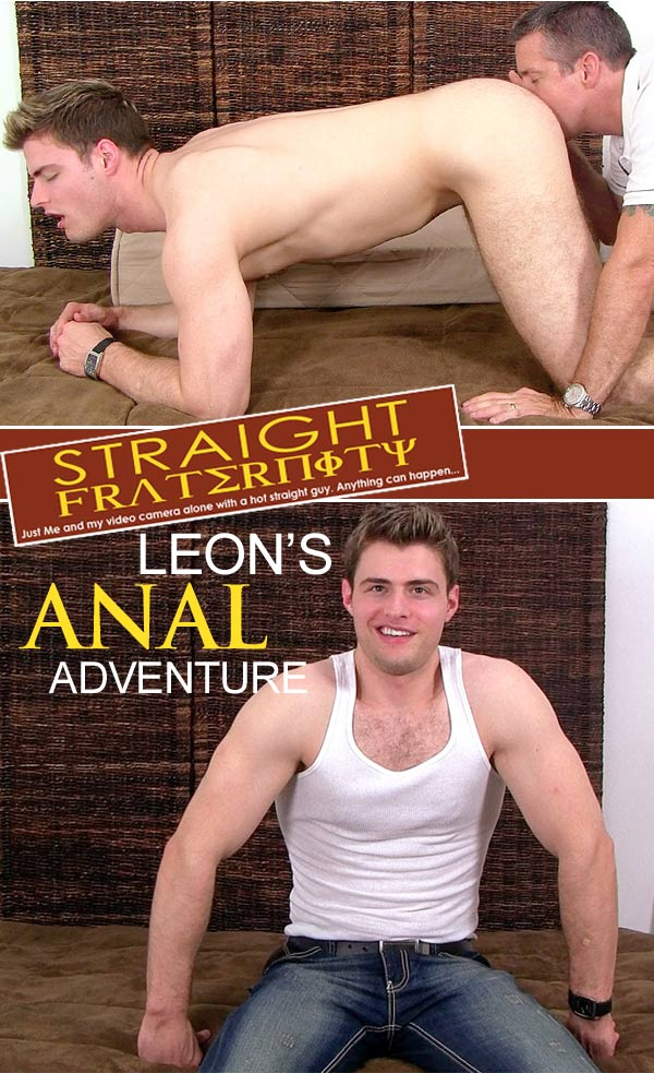 Leon (Leon's Anal Adventure)at StraightFraternity