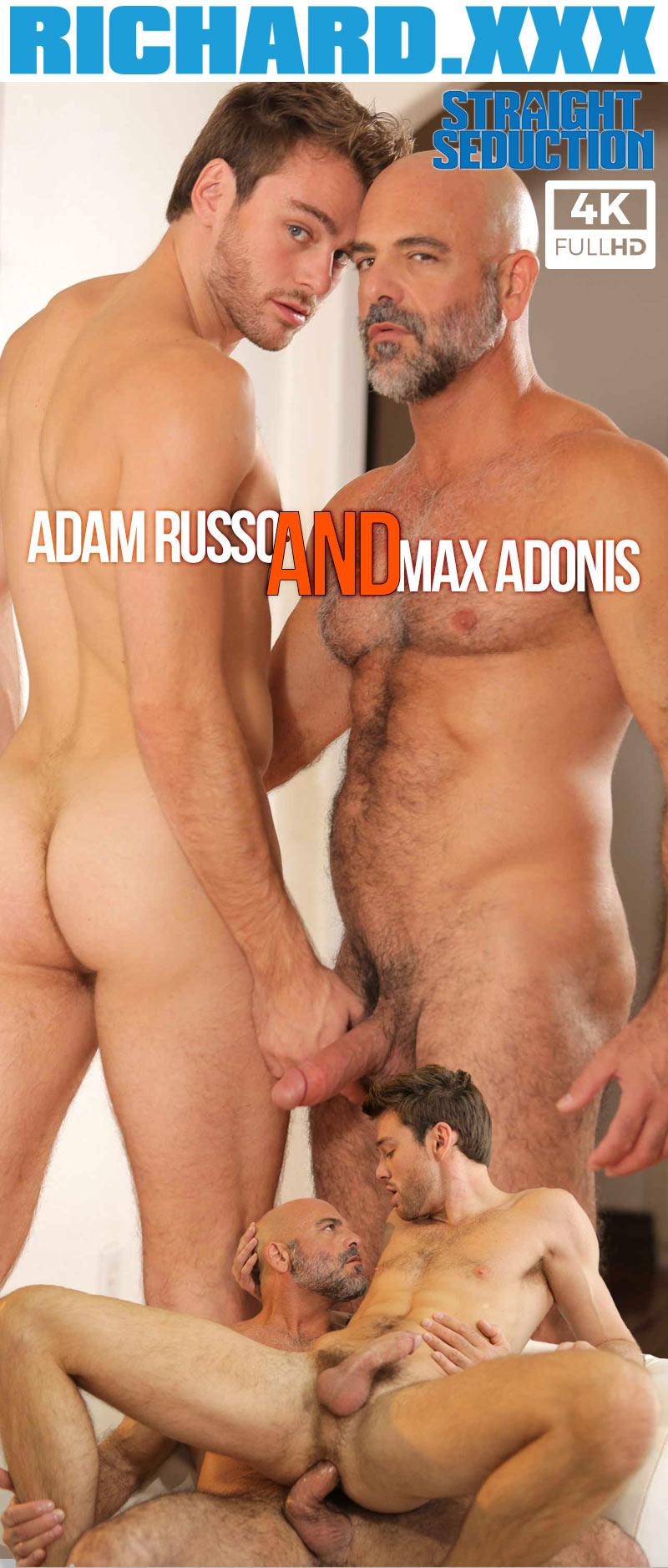 Adam Russo Fucks Max Adonis at Richard.XXX