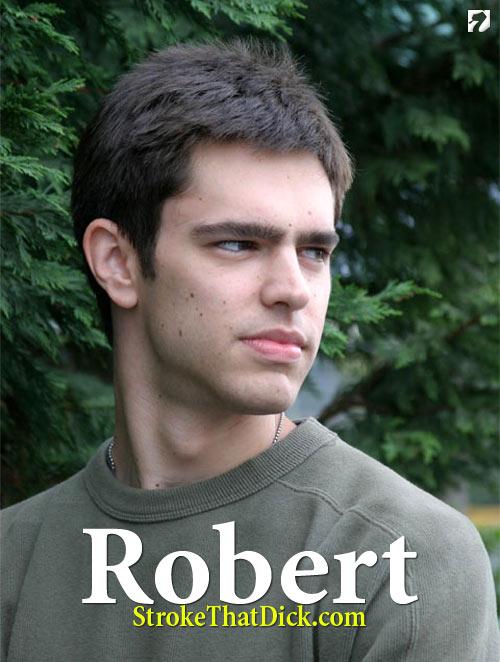 Robert at StrokeThatDick