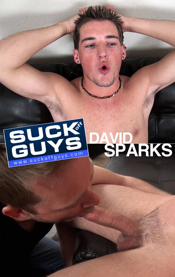 David Sparks (Gets a BJ & Fucks Aaron French) at SuckOffGuys.com