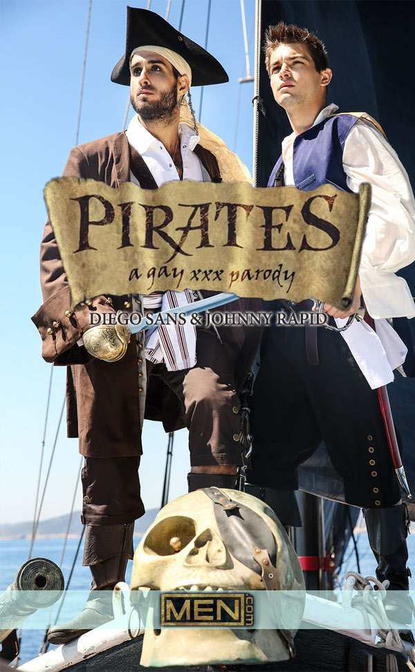 Pirates: A Gay XXX Parody (Diego Sans Fucks Johnny Rapid) (Part 1) at Men.com